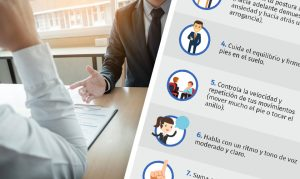 manejar el lenguaje corporal en una entrevista de trabajo