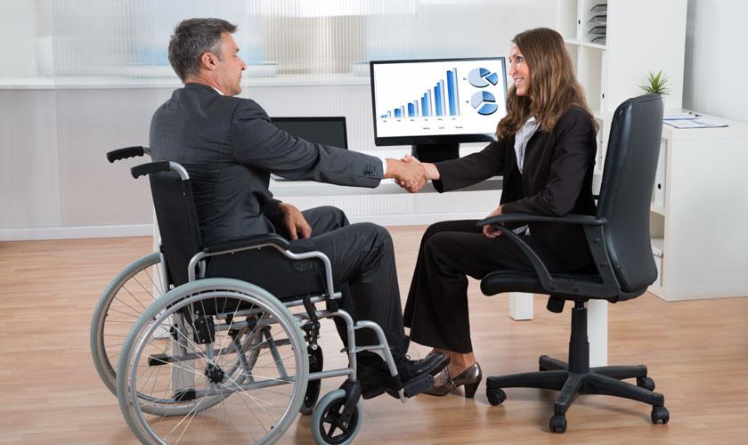 Resultado de imagen para seleccion de personal personas con discapacidad
